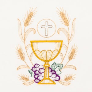 Religious Embroidery Design