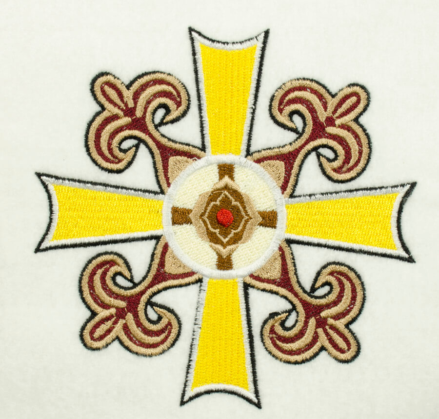 Matriz de bordado Cruz 14