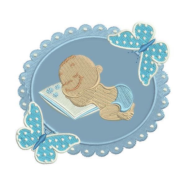 Matriz de bordado bebe
