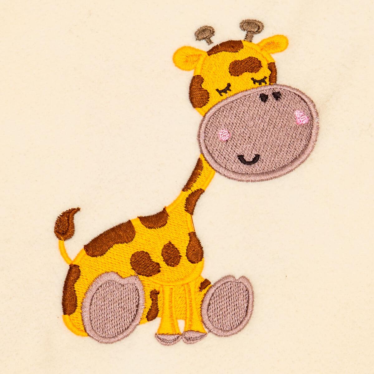 Matriz de bordado Girafa