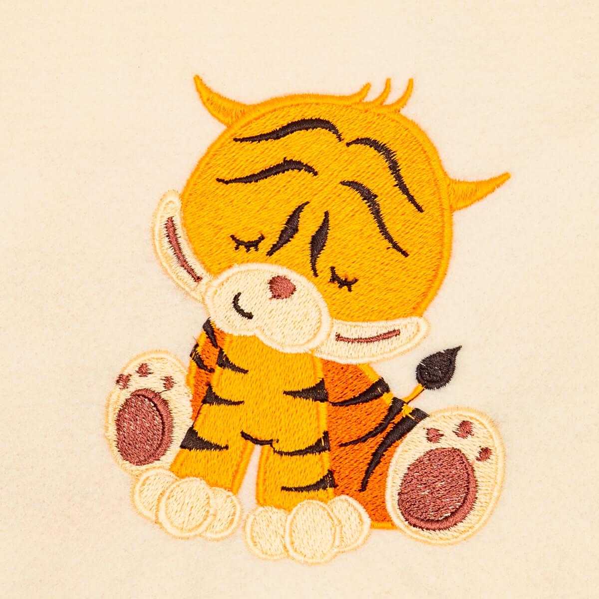 Matriz de bordado Tigre