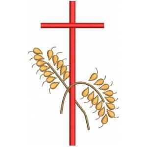Matriz de bordado Corpus Christi