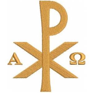 Matriz de bordado Símbolo Religioso 1