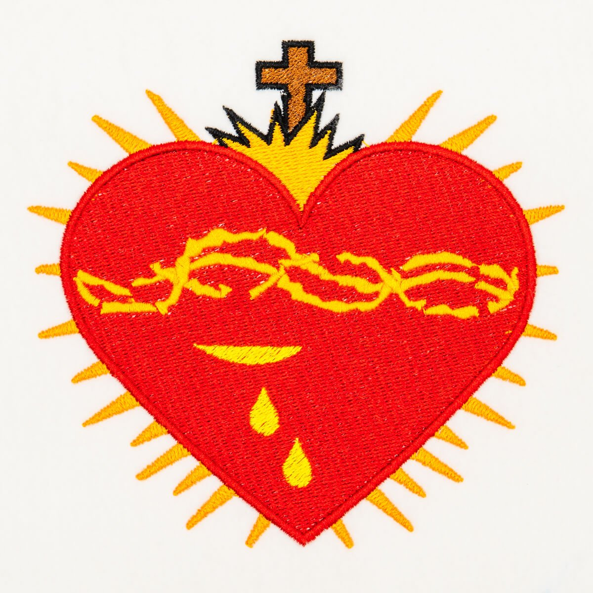 Matriz de bordado Sagrado Coração