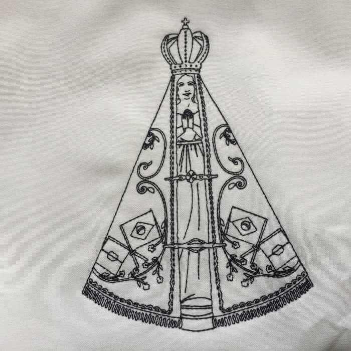 Matriz de bordado Nossa Senhora Aparecida 4