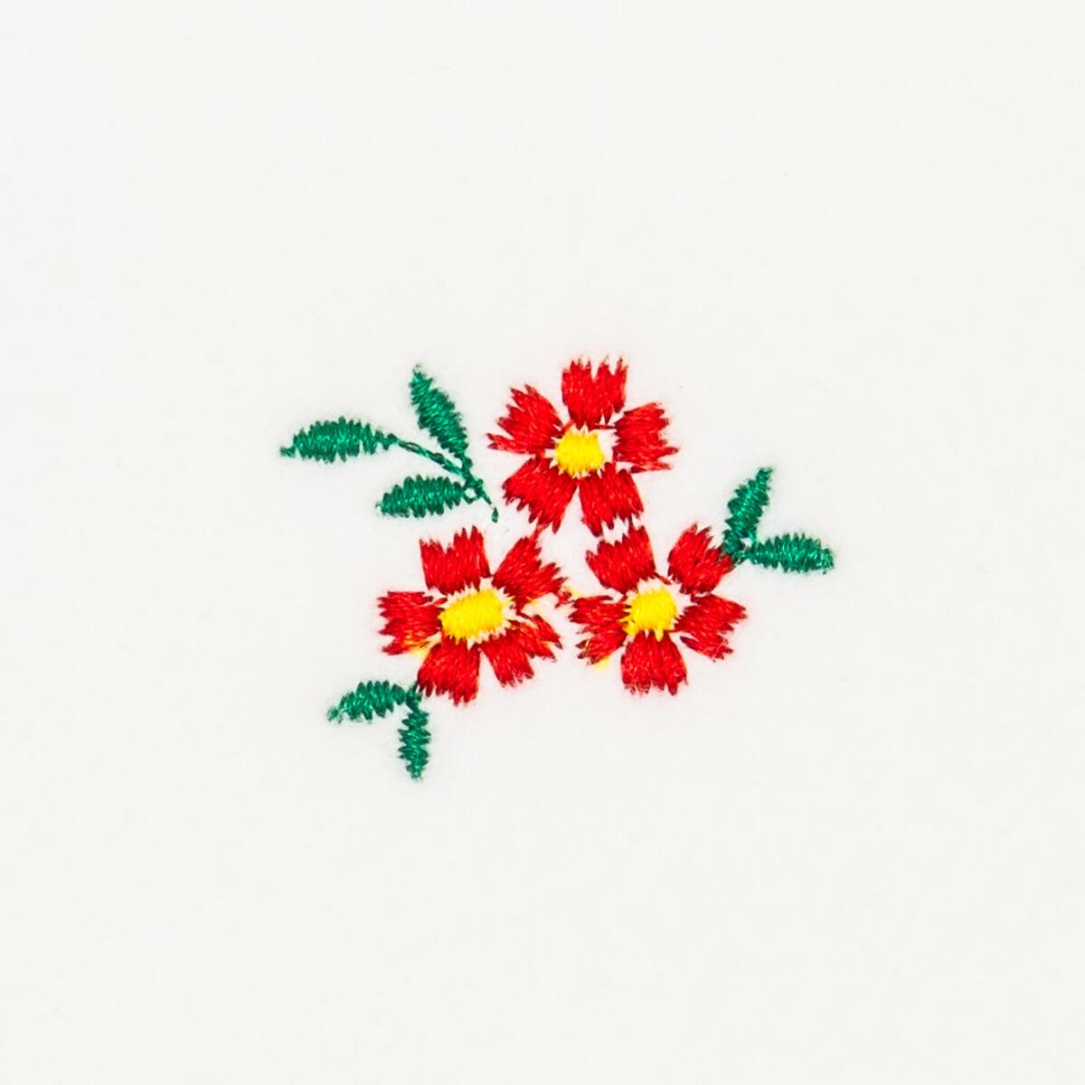 Matriz de bordado Floral 230