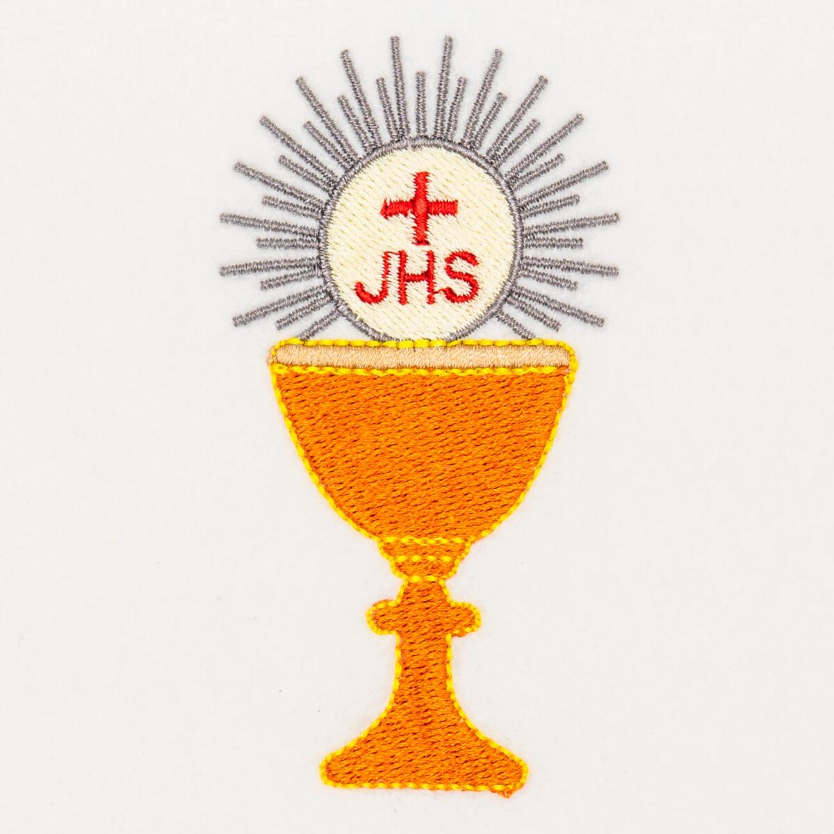 Matriz de bordado Cálice Eucaristia