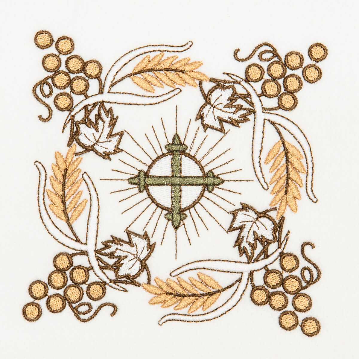Matriz de bordado floral 328