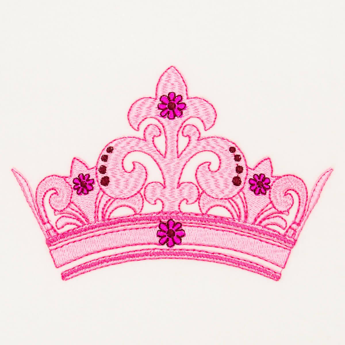 Matriz de bordado Coroa 17