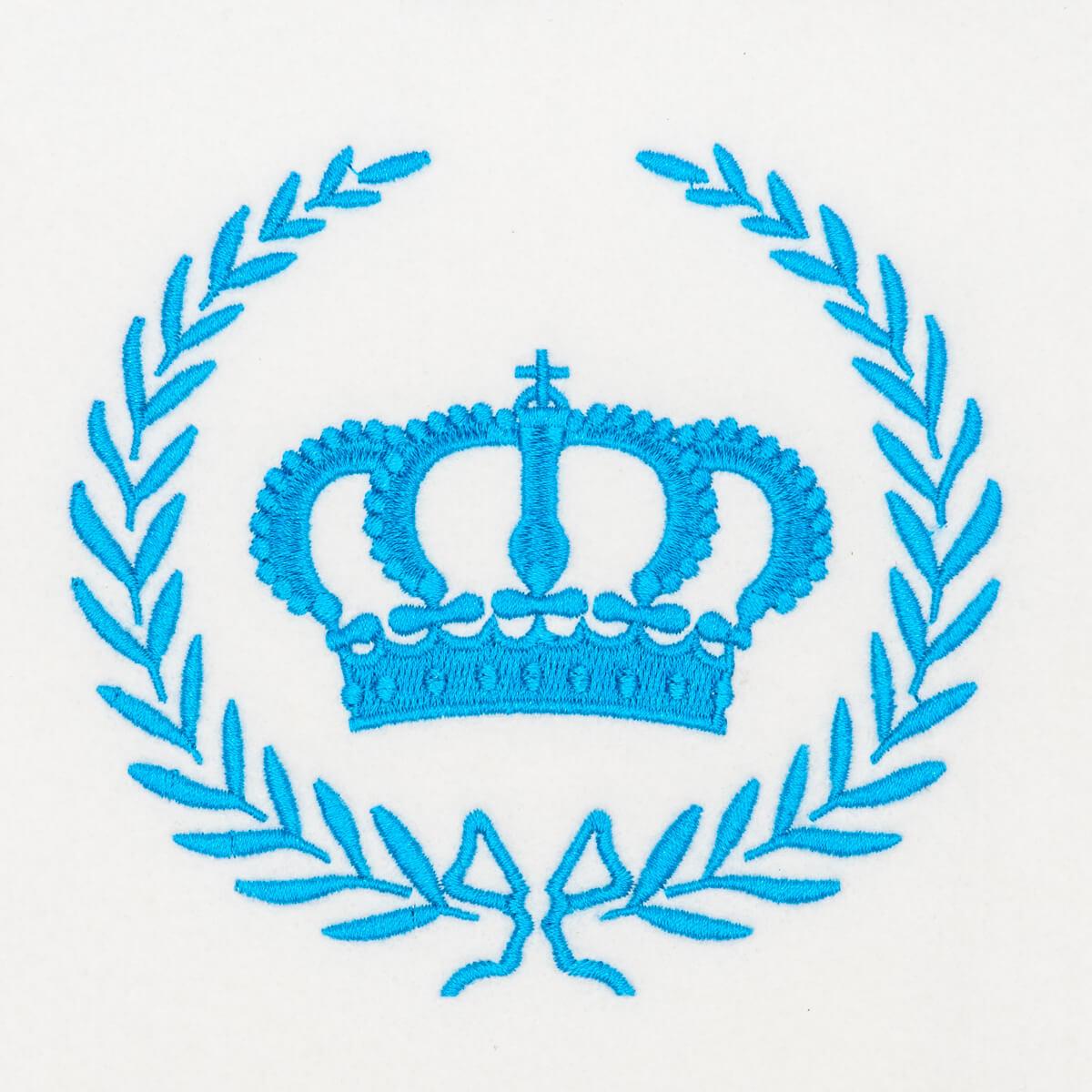 Matriz de bordado Coroa 23