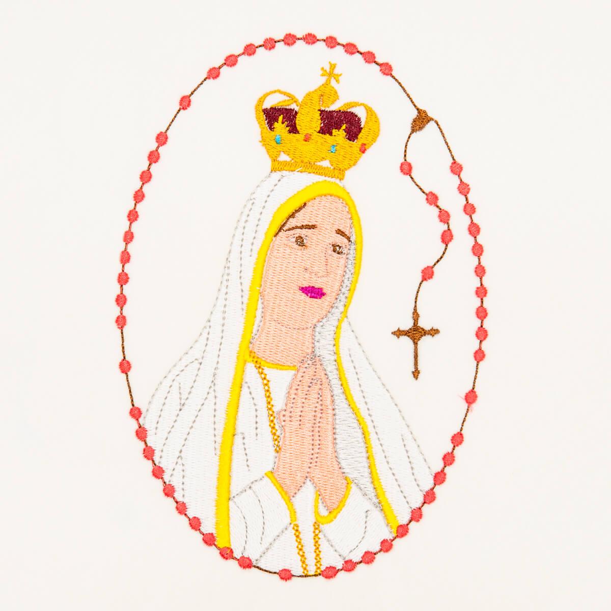 Matriz de bordado Nossa Senhora de Fátima 02