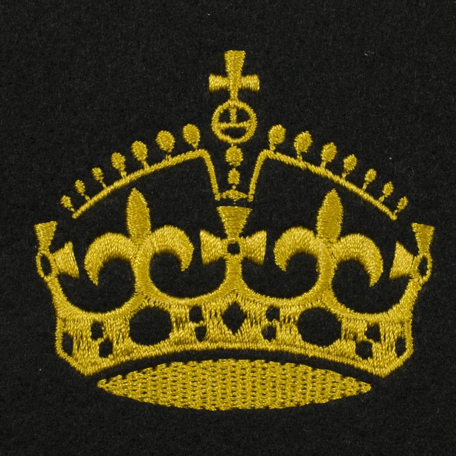 Matriz de bordado Coroa 45