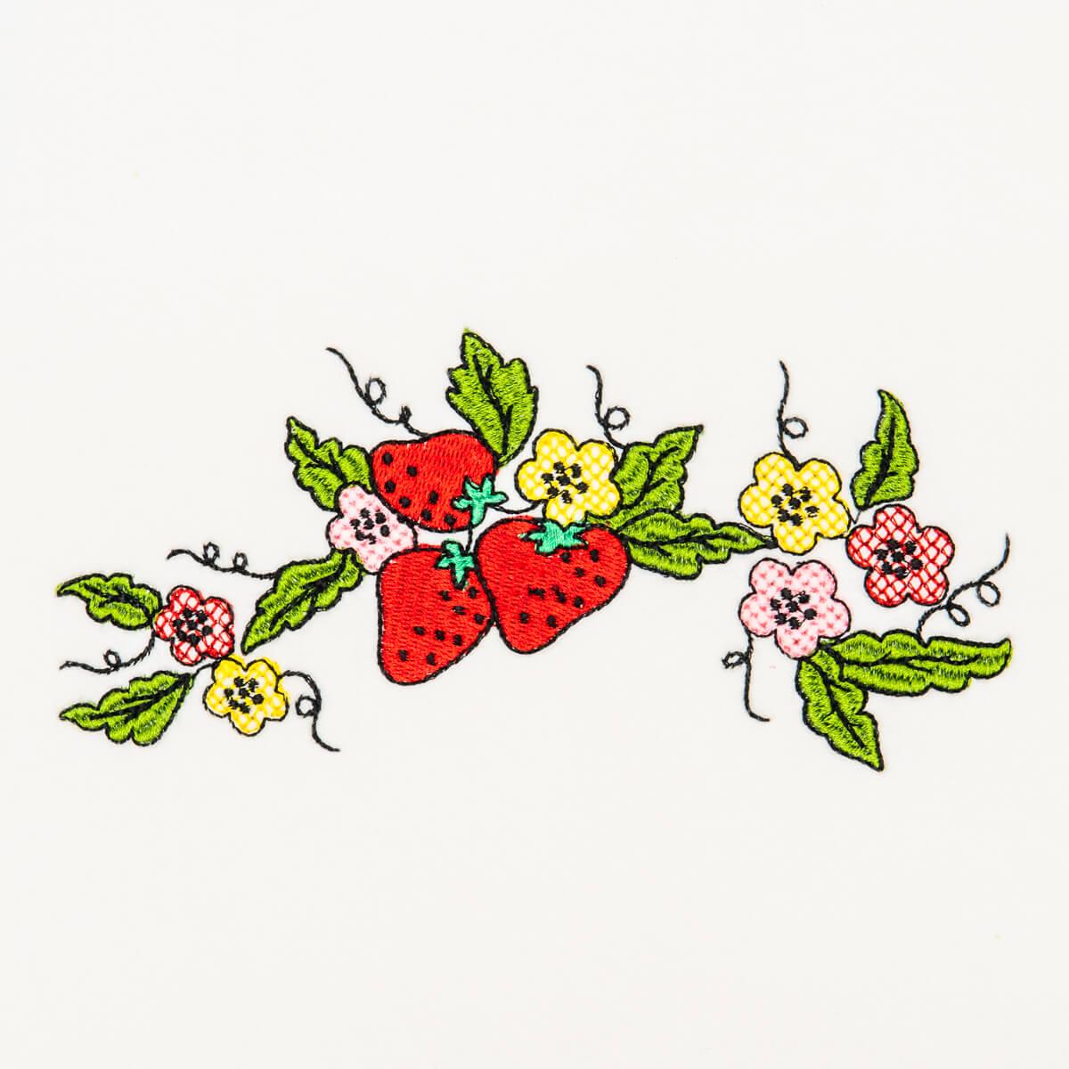 Matriz de bordado Frutas 49