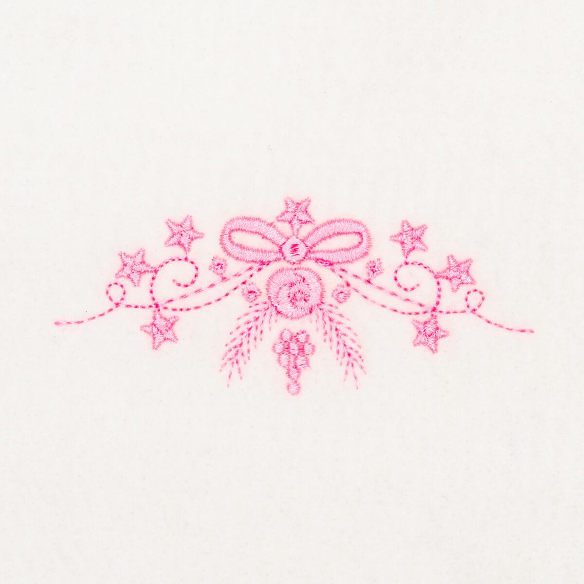 Matriz de bordado floral 375