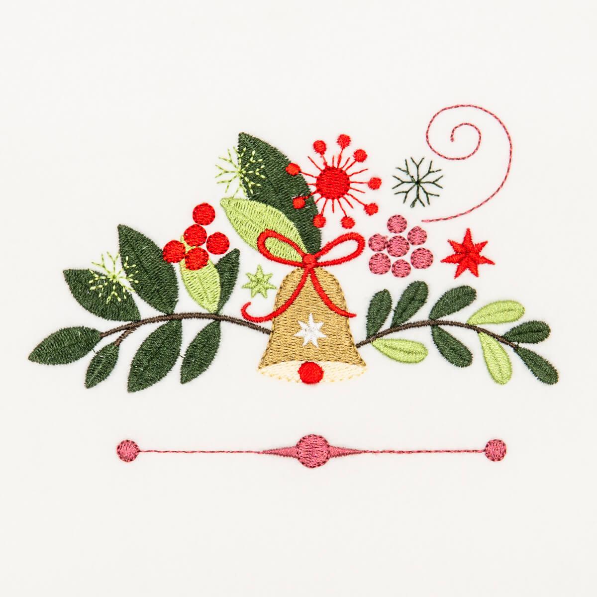 Matriz de bordado natalinos 5