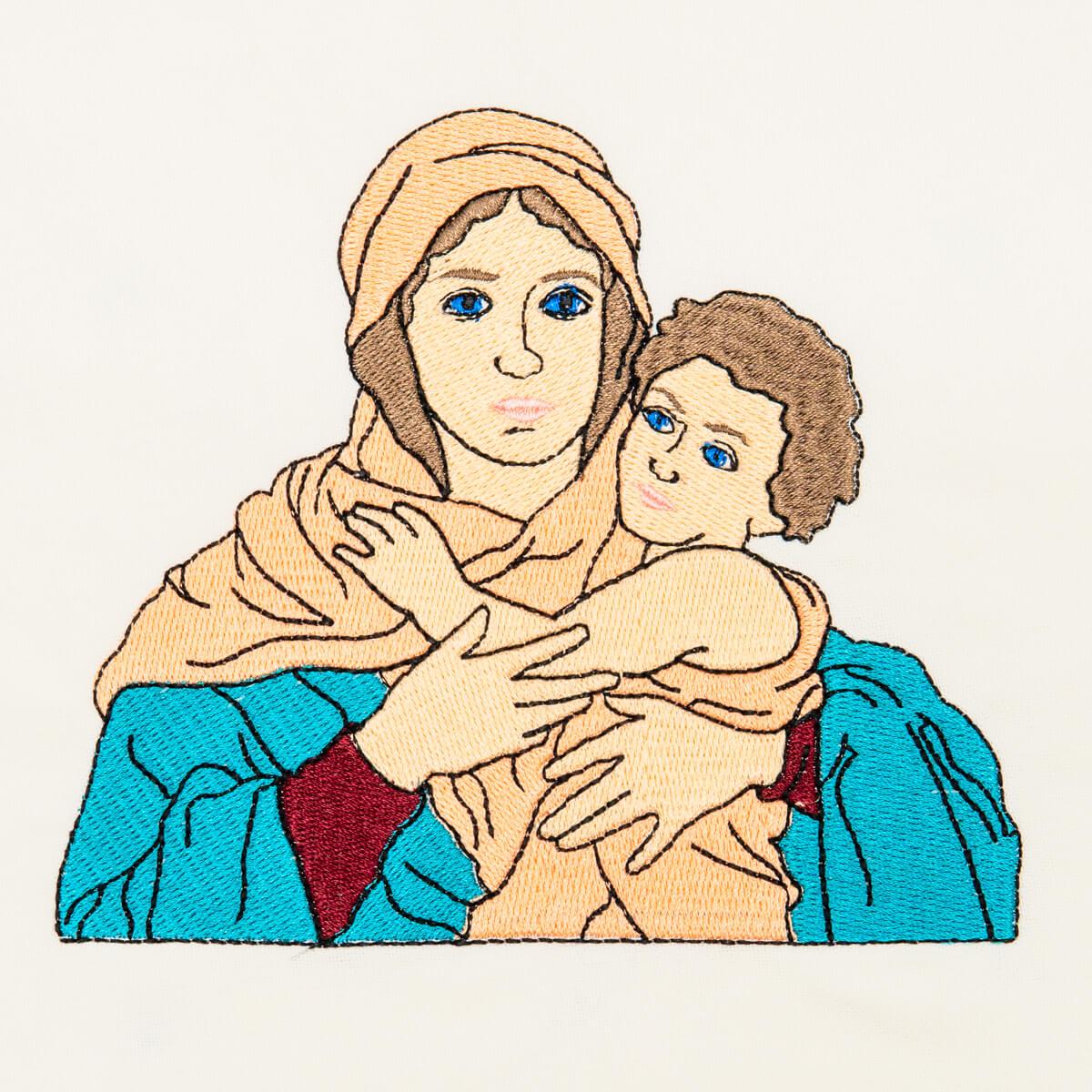 Matriz de bordado Mãe Rainha Schoenstatt