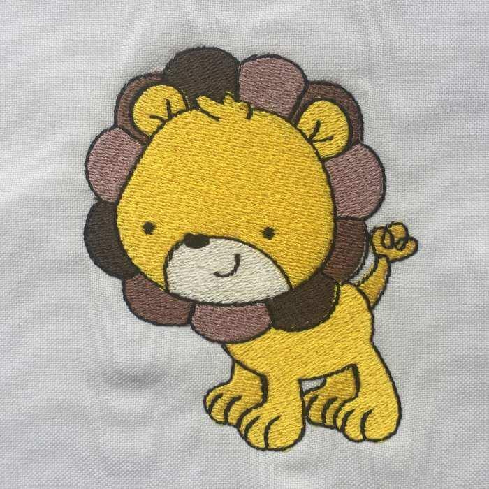 Matriz de bordado Leão
