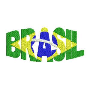 Matriz de bordado Brasil 25
