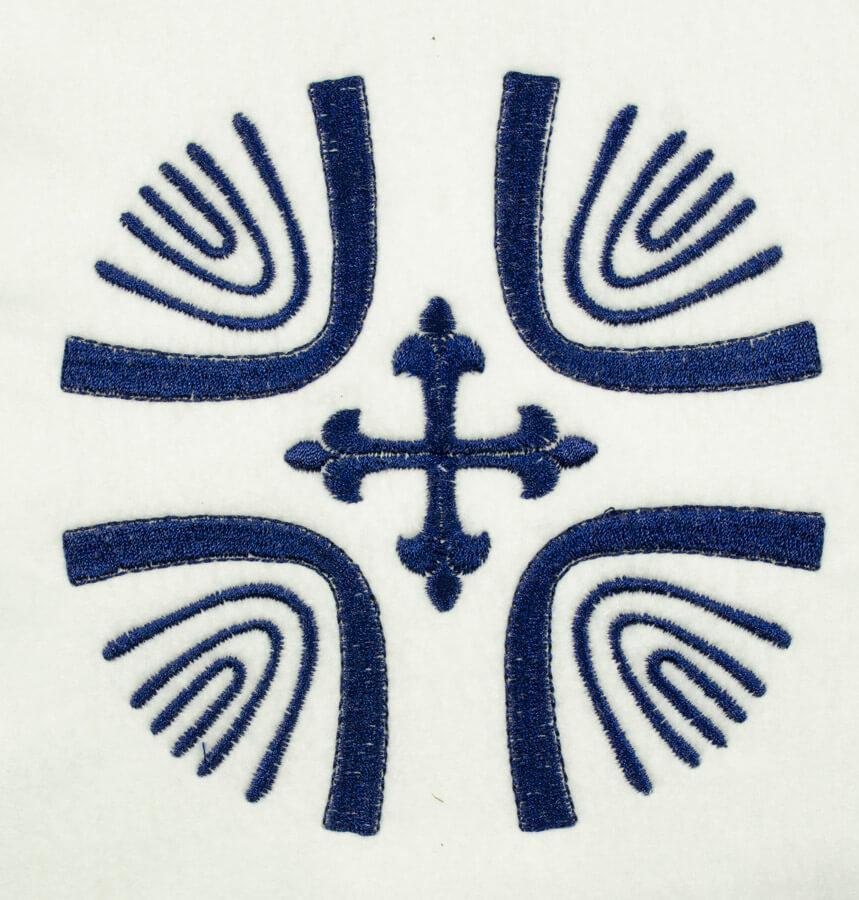 Matriz de bordado simbolos 17