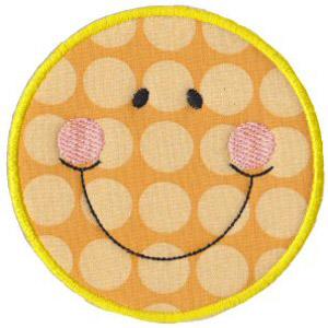 Matriz de bordado Smile 05 (Aplique)