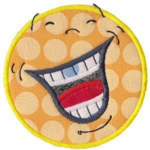 Matriz de bordado Smile 20 (Aplique)