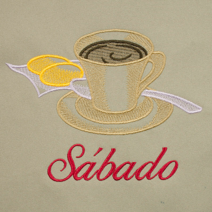 Matriz de bordado semaninha cafe da manhã 5